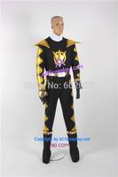 Power Rangers Dino Thunder Black Dino Ranger Cosplay Costume include belt