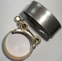 T-bolt hose clamp/heavy duty pipe clamp