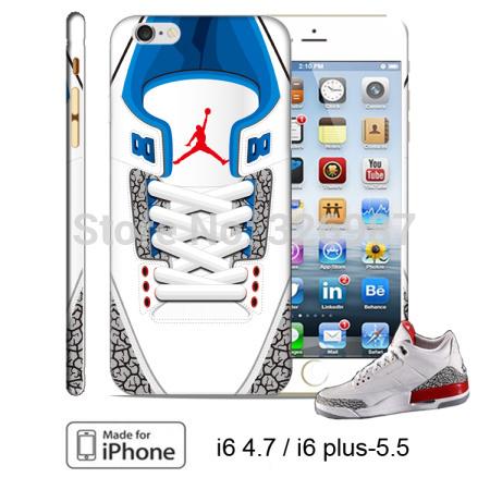 AIR JORDAN 3 JORDAN case basketball shoe aj3 retro FOR IPHONE 4/4S/5/5S/5C/6/6 Plus GALAXY S3/4/5 NOTE 2/3 Free Shipping(China (Mainland))