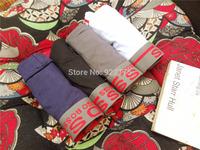 5 Pieces/Lots 2014 Boss Brand Mens Underwear Boxers Mix Color Cotton Cuecas Shorts Underwear Men Calzoncillos Hombre BOS035