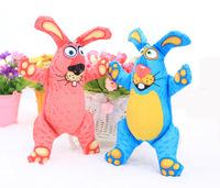 2 PCS/LOT Rabbit The cartoon Cotton animal shapes Dog Toys Pet  Vocalization cat Toys