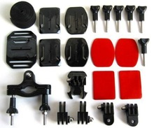 22 parts NEW Accessories Brackets pipe clamp for Gopro Hero Hero Hero2/3