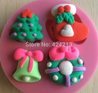 Christmas series fondant cake design mold,silicone gumpaste art mold,baking tools , hourse mold mould,silicone cake tools -P266