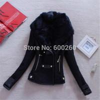 Free Shipping 2014 Autumn Winter New Fashion Women's Woolen Slim Jacket hot sales high quality