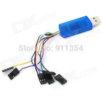 USB Dongle RC Flight Wireless Simulator - Blue NEW