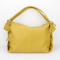 H050(yellow)PU Leather Handbag, Suitable for Women, OEM Orders are Welcome,promotion for halloween,Free shipping!