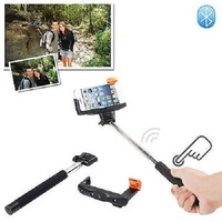 Extendable Handheld Wireless Bluetooth Selfie Monopod For iPhone Samsung Phones L014202