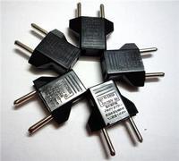 10Pcs US to EU AC Power Plug Travel Converter Adapte