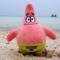 40cm spongebob's sponge bob's bob esponja's friend plush Patrick Star brinquedos pink starfish doll kids juguetes girl gift toy