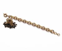 New 2014 Fashion Vintage Jewelry Retro texture crystal flowers tassel women's bracelet Free Shipping JZ102715