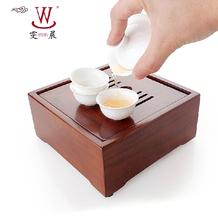 Coffee Tea Sets Ceramic cup tureen bamboo tea tray set portable travel tea set bone china