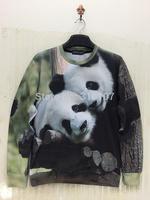 Harajuku sweater 2014 newest fashion womens long sleeve hoodies sweatshirts panda 3d print design pullover sport suit o neck top