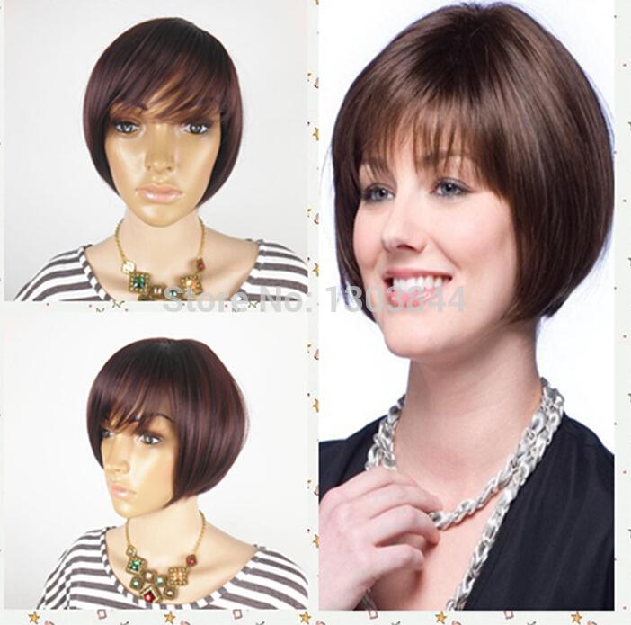 Na venda da peruca Moda Popular Bob Hairstyle da celebridade peruca de alta qualidade com preço barato elegante Kanekalon peruca(China (Mainland))