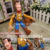 Free shipping TOY STORY Sheriff Woody Plush Toys Plastic Toys Dolls 40CM DSFG020