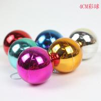Christmas ball decoration ball light ball plated b 3cm 4cm ball