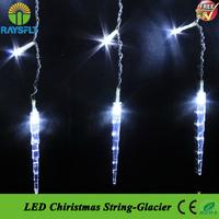 10PCS/Lot 4x0.6M 120leds 220V New year led Lights Wedding Party Garden Christmas strip light Wedding Curtain Lights Lighting