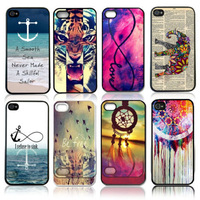 2014 Fashion Pattern Hard Skin Case Cover Back Protector fits for iPhone 5C