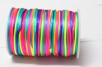 10yd 2MM Rattail Satin Cord Macrame Beading Nylon kumihimo String DIY LOT