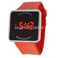 Fashion Brand New HotSales Multicolour Touch Screen Women's LED Digital Dress Bracelt Sports Gift Watches Clock Hours Relogio