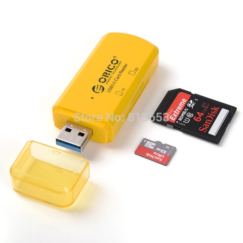 Кардридер ORICO ctu33/USB 3.0 /sd/tf CTU33-OR легко пользоваться школа эз складочном np100 wifi sd кардридер специальный считыватель