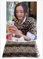 New Style Fashion Hot Leopard Scarf Women Warm animal print Leopard favorite star shawl  Free Shipping JZ1000