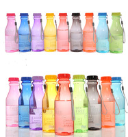 Unbreakable Sport Travel Water Bottle Portable Leak Proof  Camping Cup Hot Sale  Free Shipping 1pcs/lot