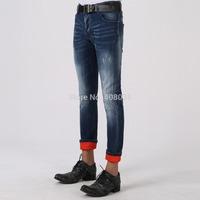 Free shipping 2014 New autumn Men fashion jeans high quality brand Dsq skinny jeans for men designer D2 slim jeans for men