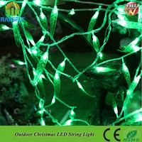 4x0.6M 120leds leaf shape Wedding Curtain Lights Lighting Christmas Fairy Light Luminaria Garland Lighting