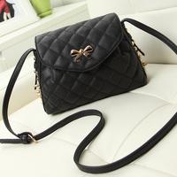 Small bags 2014 women's Handbag punk Rivets one Shoulder cross-body messenger  bags
