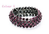 Retro Personality with rhinestones glisten Bracelet for women New 2014 Fashion trend Vintage Jewelry Free Shipping JZ102717