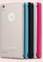 Free shipping New Hot Metal Ultra-thin Case Cover for Huawei Ascend P6