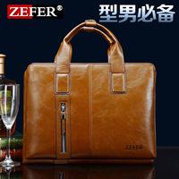 2014 NEW ARRIVED TOP QUALITY Leather Handbag,Men Travel Bags,13 inch computer bag,Briefcase,leather bags,Men Messenger bag