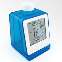 Clock electronic clock calendar chromophous magical