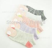New cotton socks thick line of retro socks adult socks female socks wholesale manufacturers