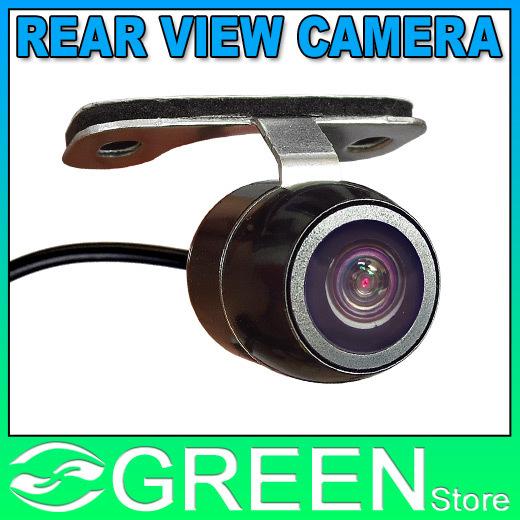 Mini Waterproof Car Parking Assistance Reversing Back Rear View Camera, HD CCD Image Sensor Rearview Camera 3 Camera For Option(China (Mainland))