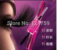 Mistine 4D double slider eyelash mascaras lengthening thick waterproof curling eyes mascara Free Shipping