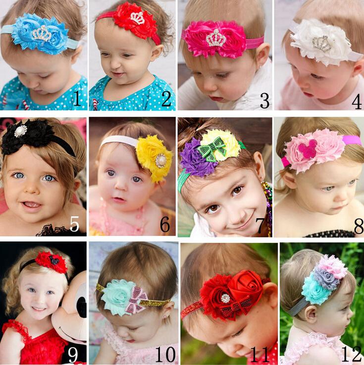 2014 new design baby headband Children Hair accessories Kids baby Hair band headwear 12colors(China (Mainland))