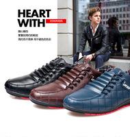 Fashion Brand autumn Men Sports shoes,men's Casual shoes Men's LACE-UP Sneakers 39-44 size