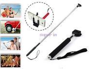 Portable Handheld Self-Timer Monopod for Camera & Phone Telescopic Extendible Selfprotrait Stand Holder