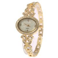 Ms Popular High Quality High-grade Retro Fashion Watches Fashion Rhinestone Bracelet Quartz Watches Free Shipping