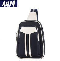 Free shipping AHM(TM) Vintage Nylon Man Bag Travel Organiser Messenger Shoulder Bag Travel Utility Work Bag Messenger Bag A009