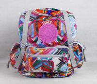 new fashion nylon kip backpack fashion kippling schoolbag backpack women monkey bag desigual free shipping