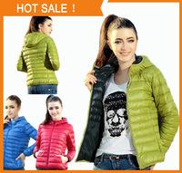 Good quality winter jacket women long sleeve thin padded cotton jacket with hood winter coat women casual parka coat N030