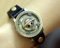 Japanese animation ONE PIECE cartoon digital watch vintage SKULL Wrist watch