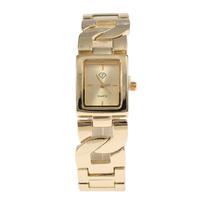 New Style Watch All Steel Belt Gold Silver Women Dress Analog Watch Fashion Leisure Ladies Quartz Watch
