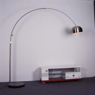Italian pure stainless steel king fishing lights are now stylish minimalist living room floor lamp(China (Mainland))