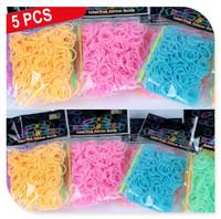 hairpinHappyBaby Mix colors DIY Braided bracelet hand chain Luminous Colorful Ties Headwrap Bandeau scrunchiy DP-7