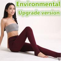 Free shipping Christmas promotional women's leggings slim super elastic environmental upgrade version
