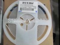 100pcs/Lot SMD Ceramic capacitor 0805 334 330nf 0.33uf
