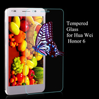 Super Thin Tempered Glass Film for Huawei Honor 6 High Transparent Screen Protector For Huawei Honor 6